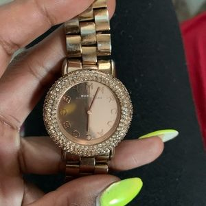 Marc Jacob watch Rose Gold